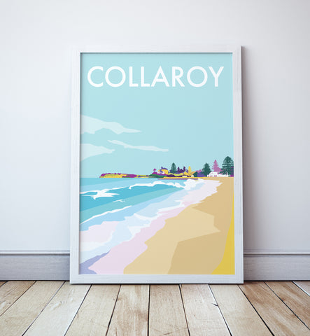Collaroy Travel Print