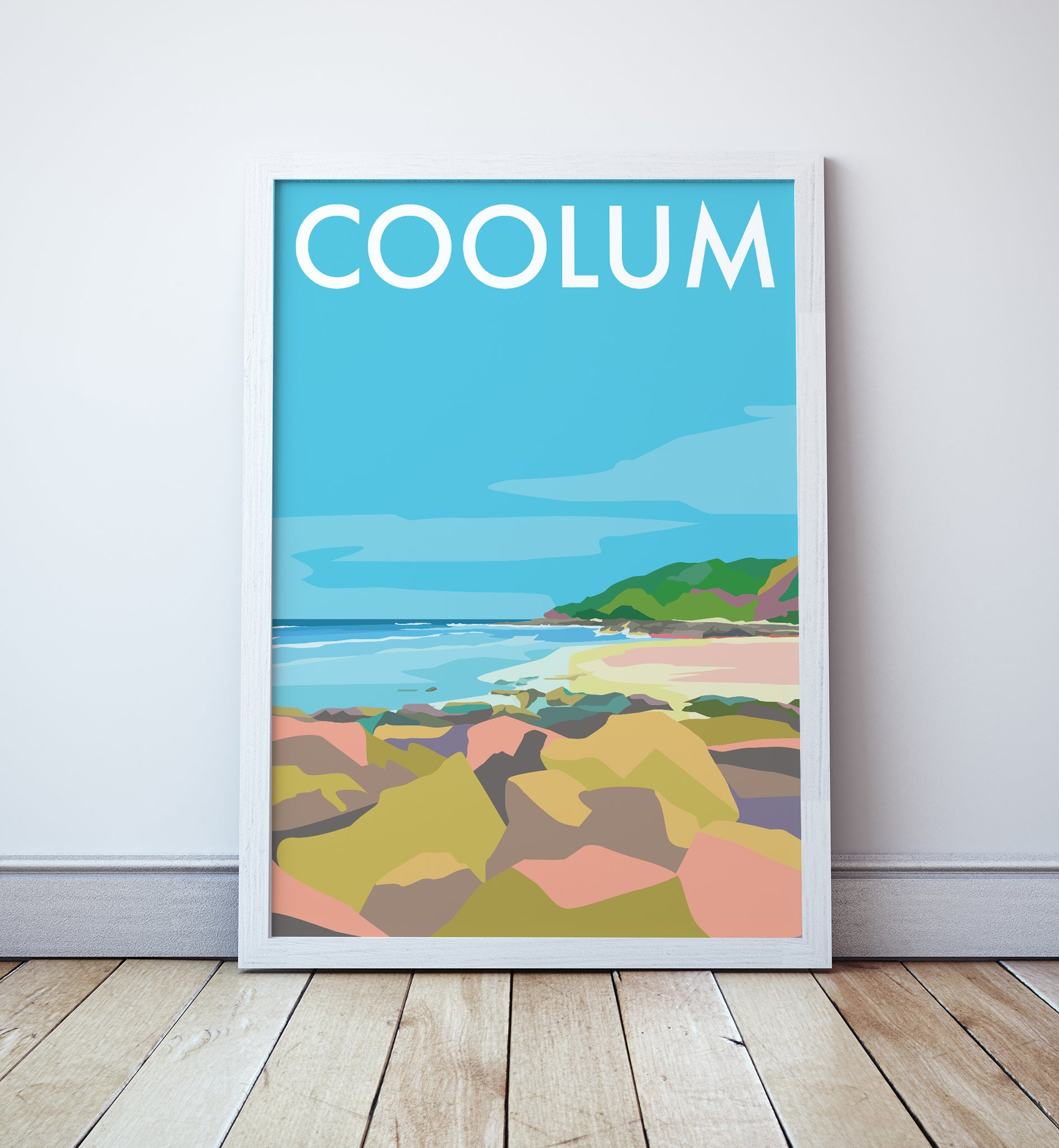Coolum Travel Print