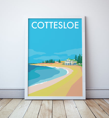 Cottesloe Beach Travel Print