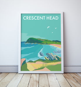 Crescent Head  Travel Print