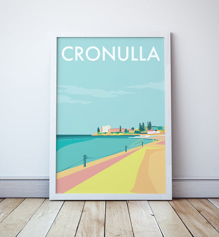 Cronulla Travel Print