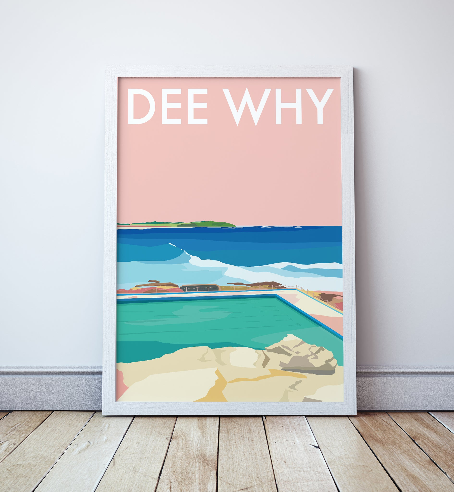 Dee Why Beach Travel Print