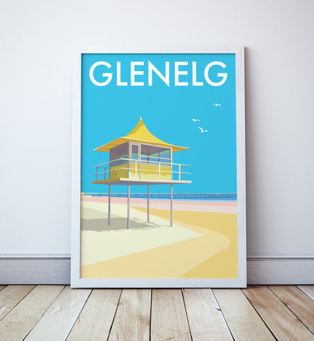 Glenelg Travel Print