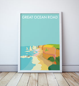 Great Ocean Road Travel Print
