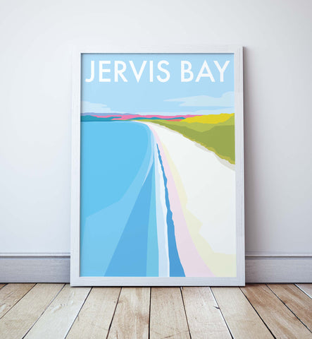 Jervis Bay Travel Print