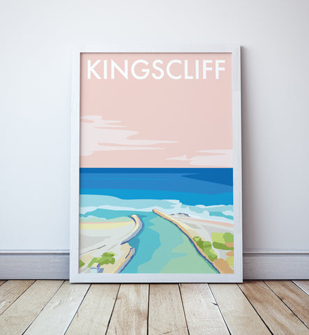 Kingscliff Beach Travel Print