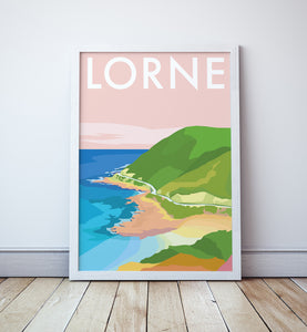 Lorne Travel Print