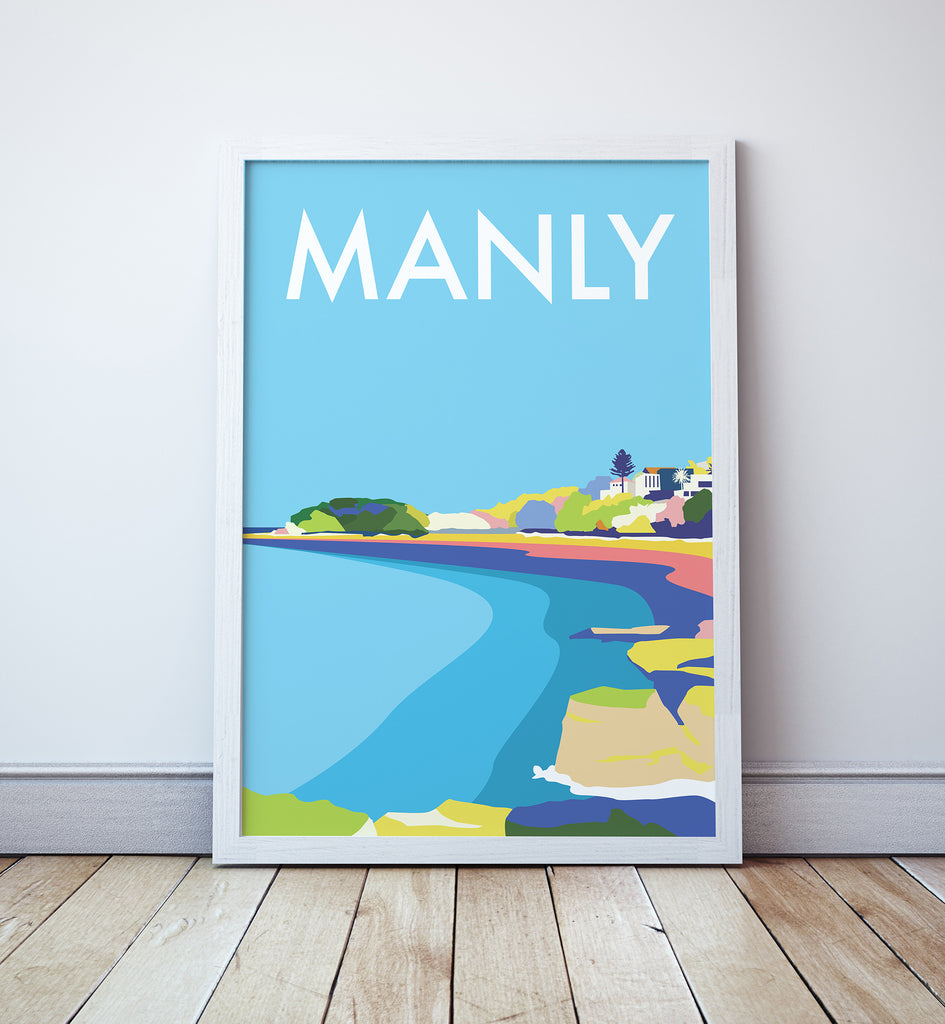 Manly Travel Print