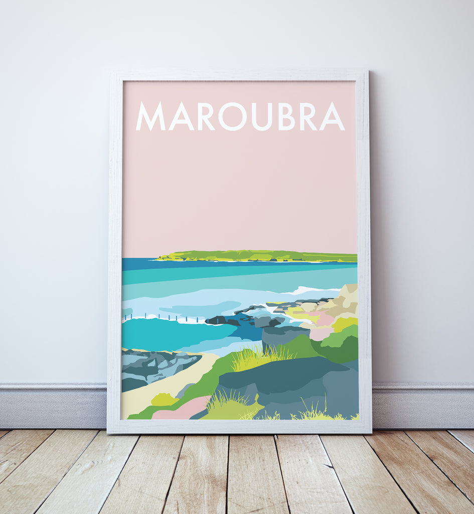 Maroubra Travel Print