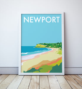 Newport Travel Print