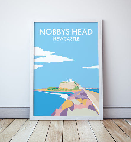 Nobbys Head Travel Print