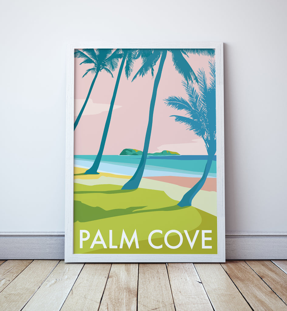 Palm Cove Travel Print