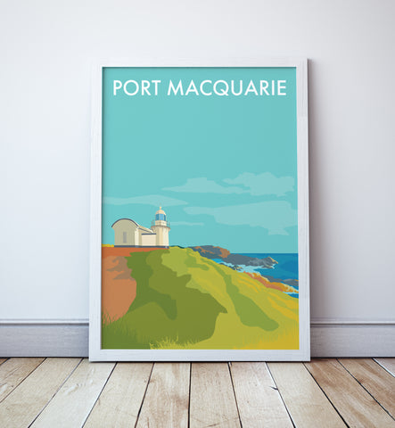 Port Macquarie Travel Print