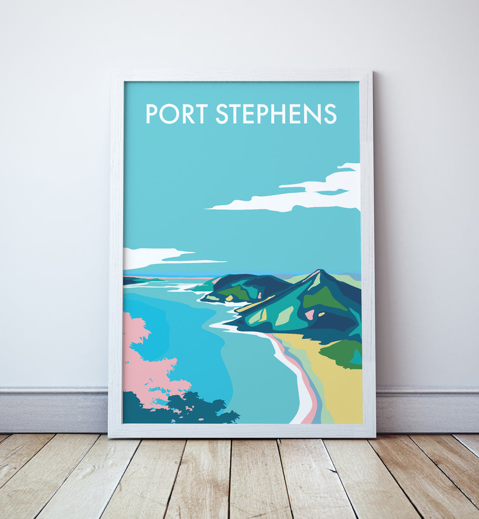 Port Stephens Travel Print