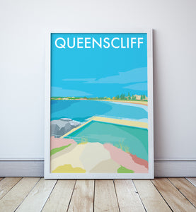 Queenscliff Travel Print