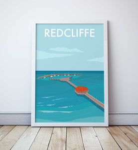 Redcliffe Jetty Travel Print