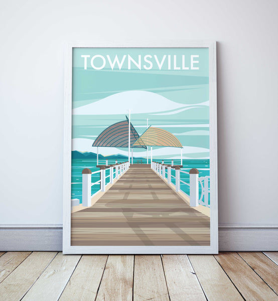 Townsville Travel Print