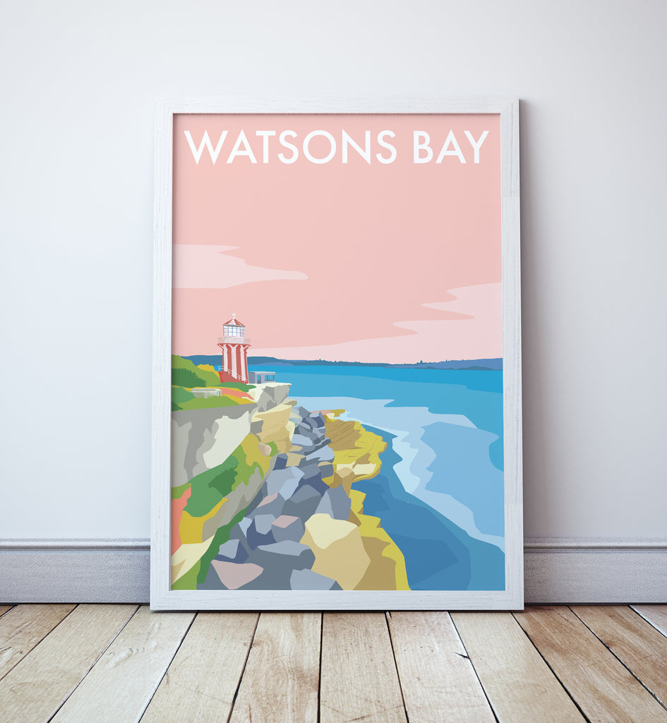 Watsons Bay Travel Print