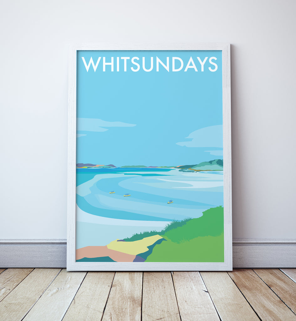 Whitsundays Travel Print