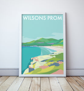 Wilsons Prom Travel Print