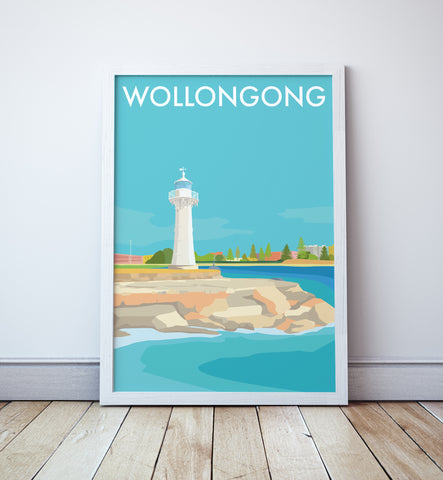 Wollongong Travel Print