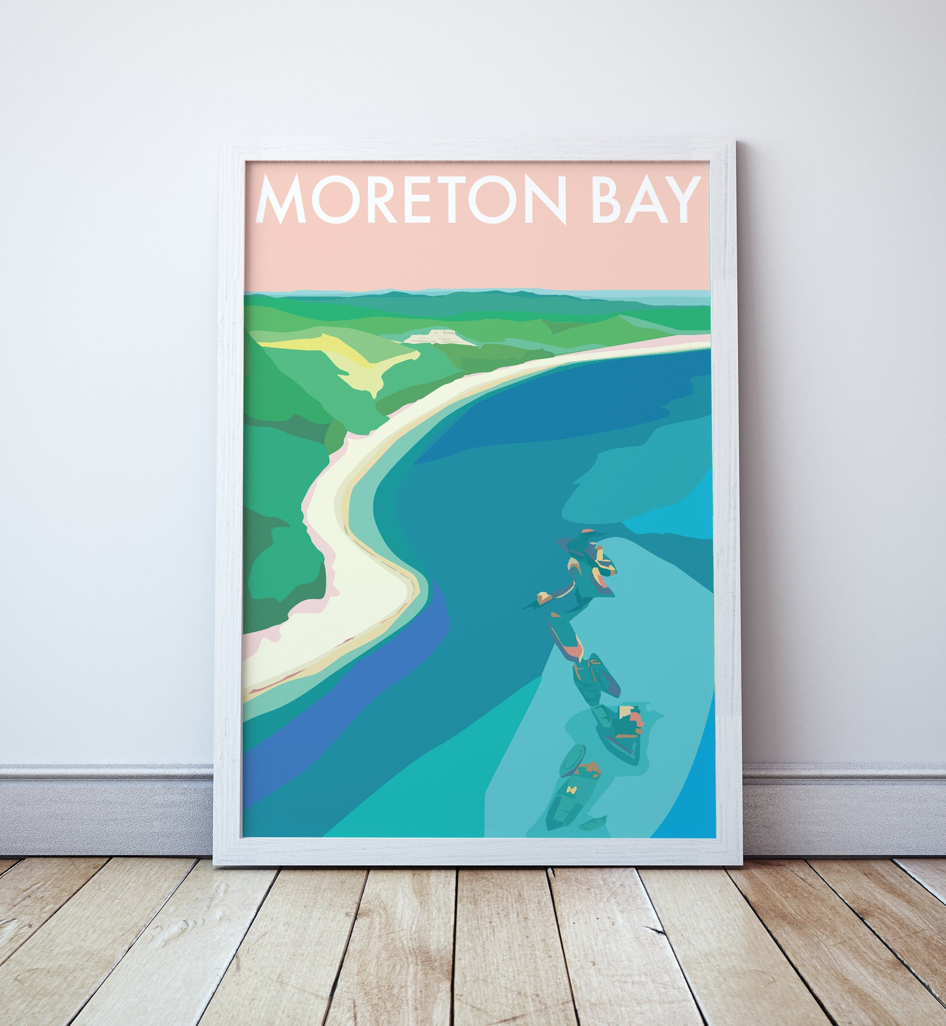 Moreton Bay Travel Print