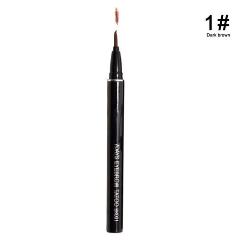 Waterproof Brown 7 Days Eye Brow