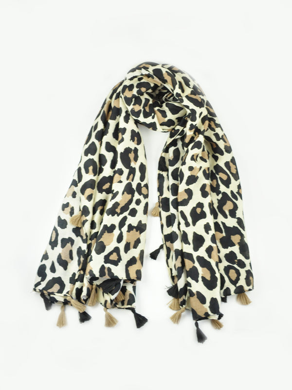 Lioness Scarf - Latte