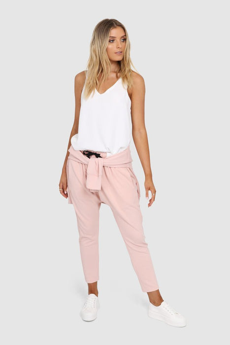 Madison Slouch Pants - Musk