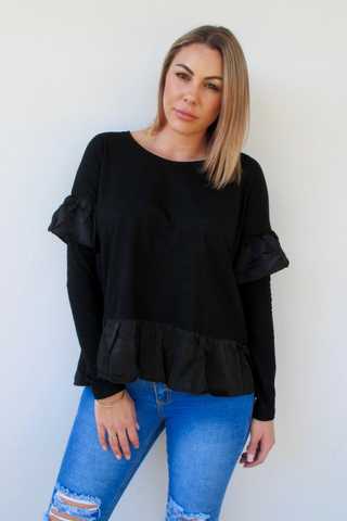 Charlotte Frill Top