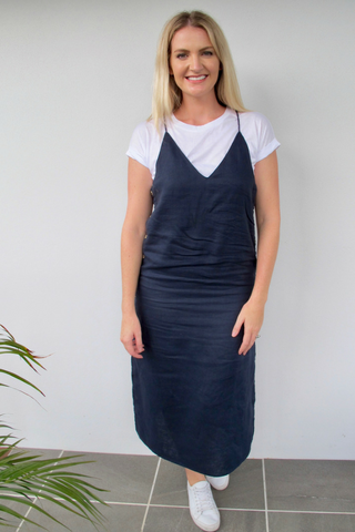 Clovely Linen Dress