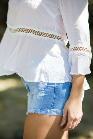 Frankie Denim Cut Offs