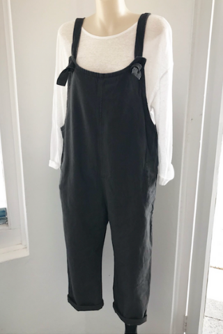 Frankie Overalls - Charcoal