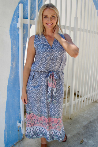 Paisley Resort Dress