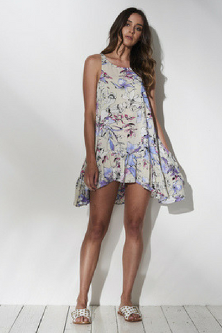 Rocco Frill Mini Dress