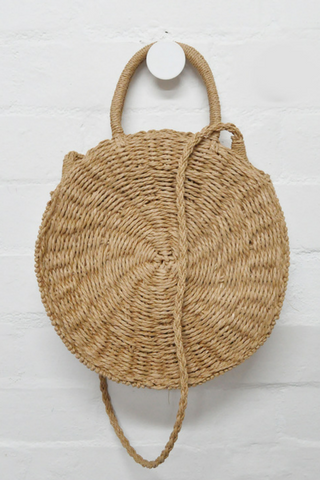 Paige Straw Bag