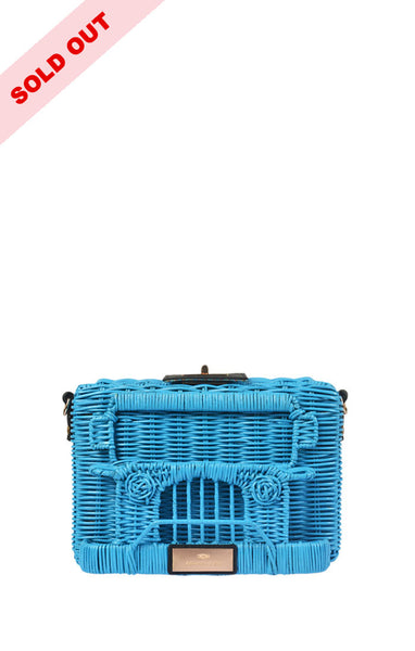 PUJ Clutch Bag ( Blue )
