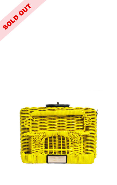 PUJ Clutch Bag ( Yellow )