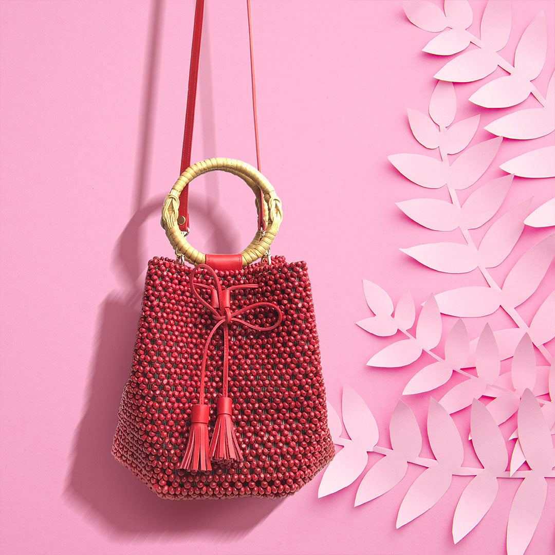 Aratilez Bag in Mabaya (Red)