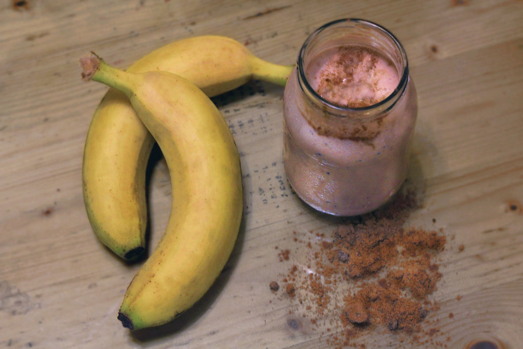 Cacao-Banana Breakfast Smoothie: Vegan Energy Booster!