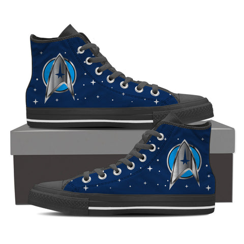 Star Trek Blue - Women's High