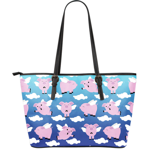 Pig Leather Tote Bag - Large