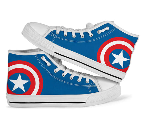 Captain America - Kids High Top