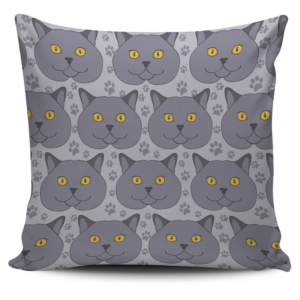 British Shorthair Pillow Cover