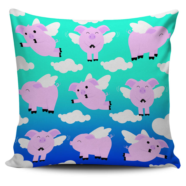Pig Pillow Cover