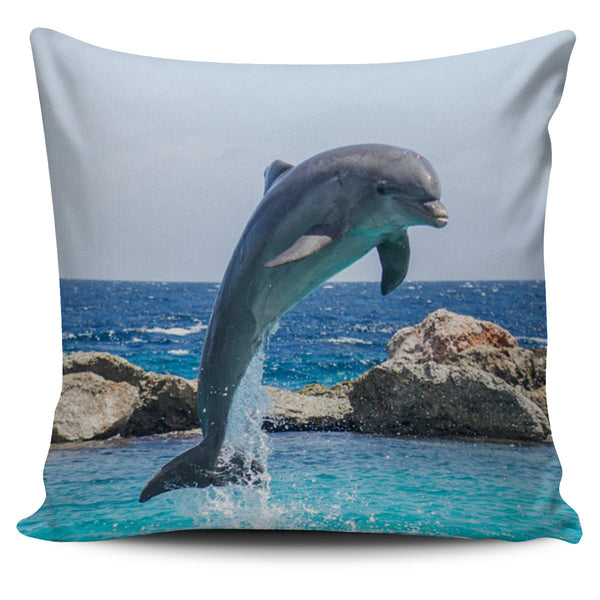 DOLPHIN PILLOW COVERS