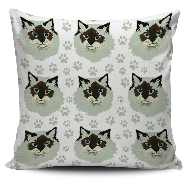 Birman Cat Pillow Cover