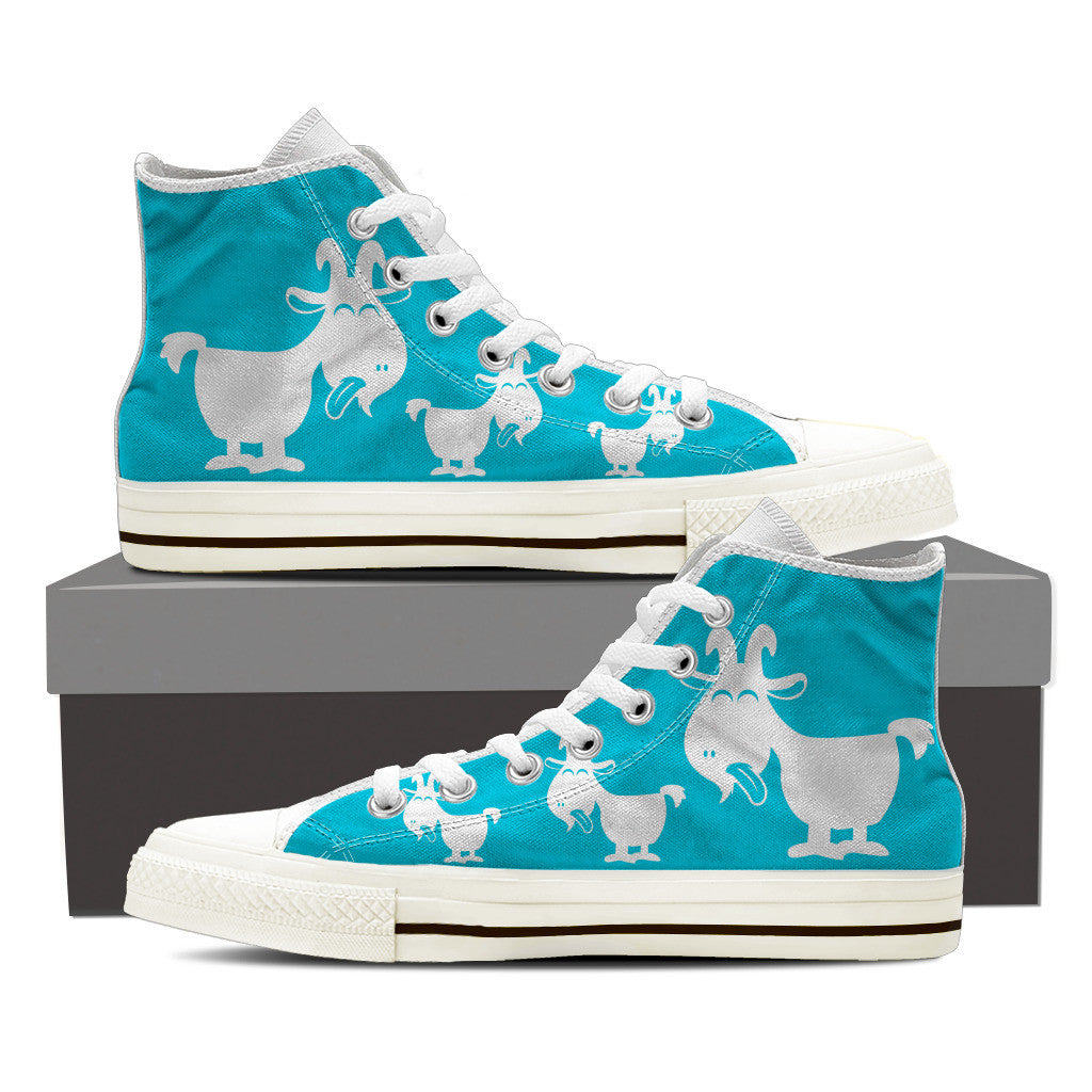 Blue Goat- Women's High