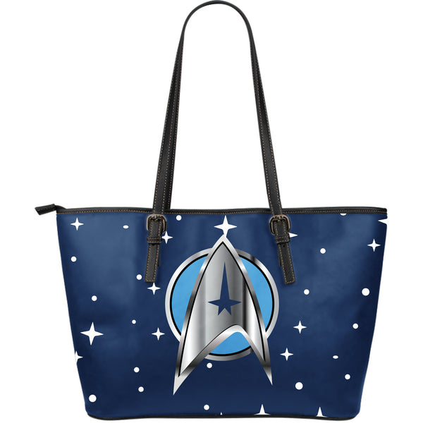 Star Trek Leather Tote Bag - Large