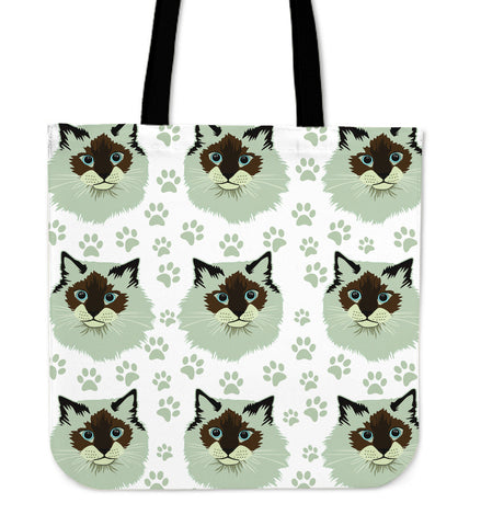 Birman Cat Tote Bag